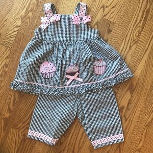 Super cute Toddler matching set